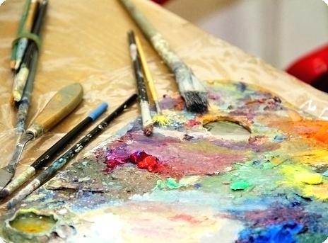 materiály pre umelcov